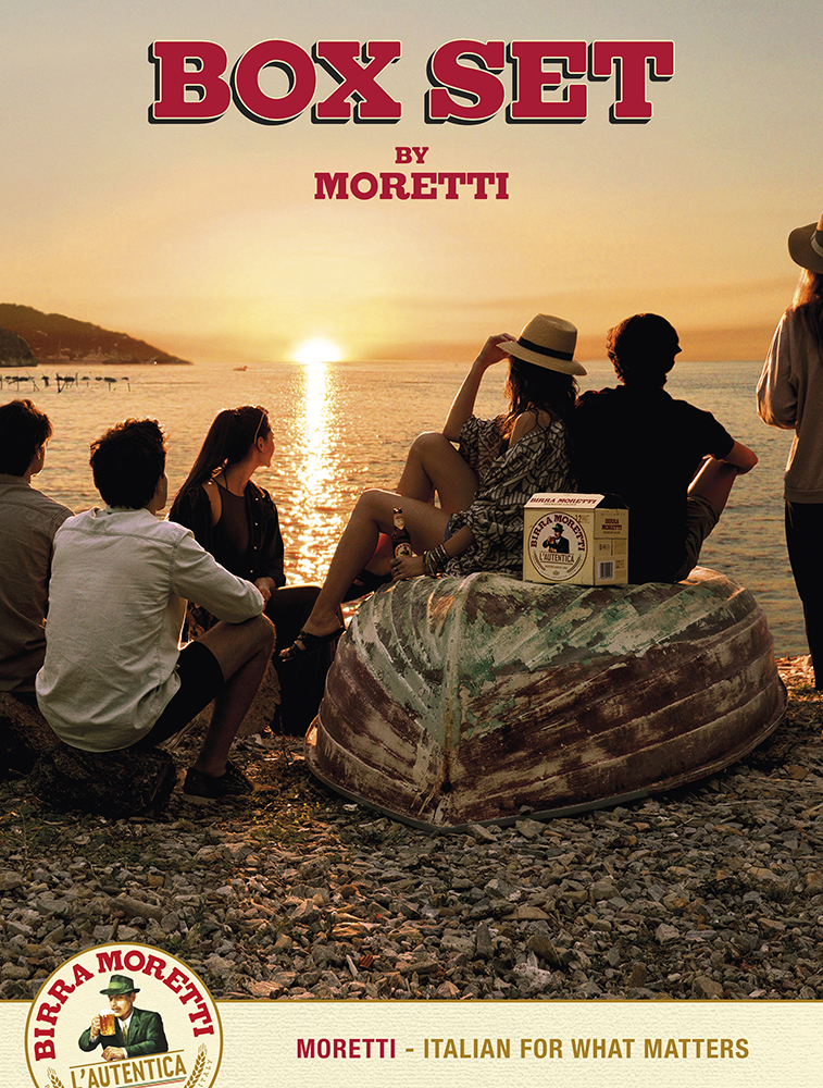 Silvia Sadecka, advertising, commercial,Birra Moretti